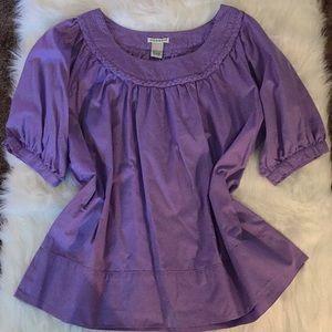 Ladies Light Purple Blouse